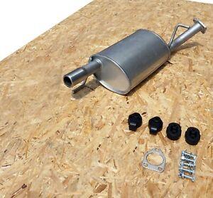 Rear Silencer for MITSUBISHI LANCER VII 2.0 Exhaust