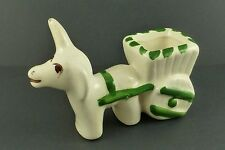 Vintage Rio Hondo Donkey and Cart Small Planter Toothpick Holder Figurine