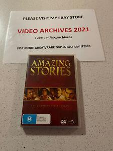 Amazing Stories :  Steven Spielberg Presents First  Season 1 - Free Postage