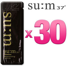SU:M37 Flawless Regenerating Essence 30pcs Anti-Aging Serum SUM37 + Free Gift