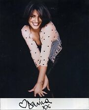 DAVINA McCALL Signed Sexy Photograph - TV Presenter / Celebrity - preprint