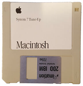 Apple Macintosh System 7 Tune-Up Disk for Classic Macs with System 7.0 and 7.0.1