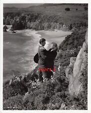 "GREER GARSON & ROBERT MITCHUM Vintage Original '47 ""DESIRE ME"" Photo RARE"