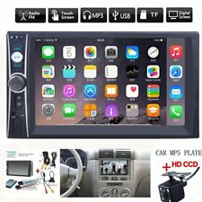 2din 7 Hd Car Stereo Radio Mp5 Player Bluetooth Touch Screen With Rear Camera Fits 2013 Lexus Rx350