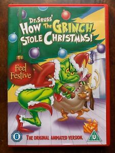 How the Grinch Stole Christmas DVD 1966 Dr Seuss Movie Animated Classic