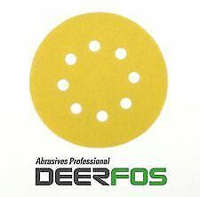 DA SANDING DISCS MIXED BOX MIXED GRIT 80-800  DEERFOS PACK 90 150MM VELCRO