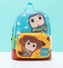 Official Pop by Loungefly Disney Pixar Toy Story Buzz and Woody Mini Backpack