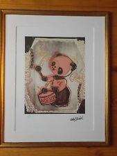"""Lithographie ,  Andy Warhol , """" Panda Batteur """" Tirage numéroté"""