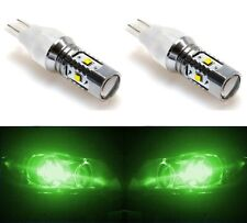 LED Light 30W 921 Green Two Bulbs Back Up Reverse Replacement Off Road Bright