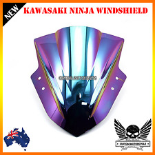 New Double coat Bubble Windshield Windscreen Kawasaki Ninja 300 EX300 2013-2015