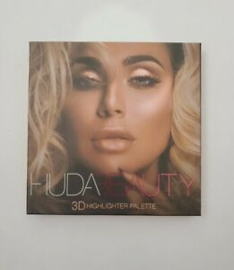 HUDA Beauty 3D HIGHLIGHTER Palette PINK SANDS EDITION!! NEW BRAND!! SOLD OUT