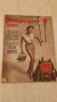 1955 PICTUREGOER FILM MAGAZINE Cover DOROTHY MALONE-  5th February