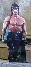 "Sylvester Stallone ""Rambo"" Movie Tabletop Display Standee 10 1/2"" Tall"
