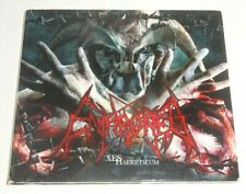ENTHRONED XES HAERETICUM 2004 NAPALM CD - Limited Edition Digipak