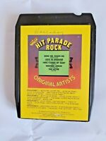 8 Track Tape Hit Parade Rock by the Original Artists S.J. Productions Vintage