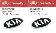 2013 2016 Sportage Genuine Front Grille Emblem Amp Rear Trunk Lid Emblem Kia Logo Fits 2013 Kia Sportage