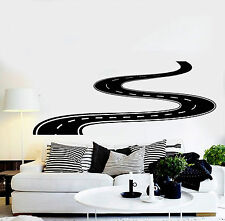 Vinyl Wall Decal Road Highway Room Decoration Stickers (ig3826)