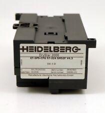 Heidelberg G4.170.0415/01 DryStar 2000 Siemens ET-SPS-CPU S7-224 SM52F V4.31