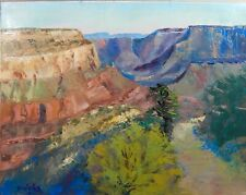 Grand Canyon painting Palette Knife Oil Painting Impressionism Landscape
