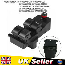 UK Electric Power Window Control Switch For Honda Civic VII 2001-2005