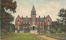 Boys' Industrial Home in Topeka KS Postcard 1910
