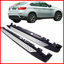 FOR 08-14 BMW X6 Aluminum Running Boards Pair Set Side Steps OE Style Rail Nerf