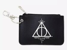 Harry Potter Deathly Hallows Key Ring Clear ID Zipper Wallet