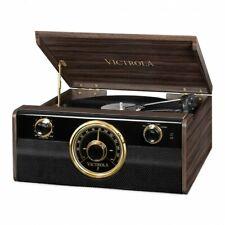 Victrola VTA-240B - Empire Junior 4-in-1 Vinyl Music Centre - Espresso