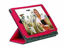 Gecko Red Grip Folio Case Cover Protection Adjustable Stand for iPad Air 1 2