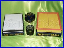 Inspektionspaket set Filtersatz Opel Astra G H Zafira A 1,4 1,6 1,8 2,0 16V OPC