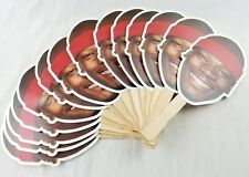 Huge Lot Of 14 Vintage Clifford Robinson Face Fans portland blazers giveaway NBA