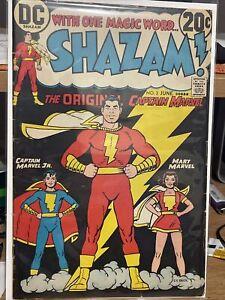Shazam! #3 DECENT SHAPE 1973 Captain Marvel DC Comics Justice League