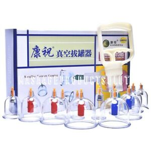 Vacuum Cupping 12 cans set 24 cans set