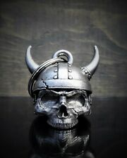 3D VIKING HELMET SKULL Ride Bell guard to protect against motorcycle gremlins