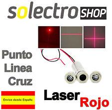 650nm 50mW Rojo Linea Cruz Punto Red Laser Module Focus Adjustable Head 5V M0048