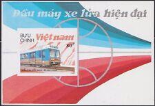 VIETNAM Bloc N°40A** Bf Train, 1988 Vietnam 1900 Locomotives Miniature Sheet MNH