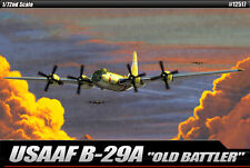 Academy Aircraft 1/72 Scale Plastic Model Kit USAAF B-29A Old Battler #12517
