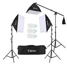 New ListingSet of 3 Lighting Softbox Stand Photography Photo Equipment Light Kit w/ Bag