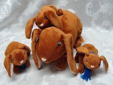 Bunnies GUESS How Much I Love You Bunny KOHLS Rabbit 3 Twin Babies Baby EUC Lot