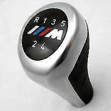 BMW M SPORT GEAR KNOB SHIFT 5 velocidad 3 serie E36 E39 E46 E90 E91 Z3 Leather
