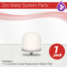 Zen Water System Replacement Ceramic Dome Water Filter 0.5 to 1 micron