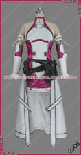 Sword Art Online Gun Gale Online Fatal Bullet Yuuki Asuna Dress Cosplay Costume