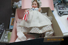 "Vintage Madame Alexander Betsy Ross Doll - - 8"" with Box and stand No Reserve"