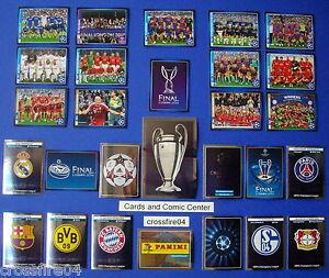 Panini Champions League 2013 2014 Album Glitzersticker Sondersticker aussuchen