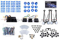 Universal Power Window Kits fit any Vehicles with 4-Doors, 12V
