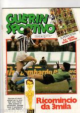GUERIN SPORTIVO=N°15 1983=POSTER LE STELLE DELLA ROMA=I MATIA BAZAR=VASCO ROSSI