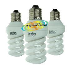 3x ENERGY Saver Lampada SPIRALE 11W standard a vite ES E27 LAMPADINA