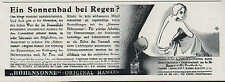 HANAU, Werbung um 1910, Quarzlampen-Gesellschaft mbH Höhensonne