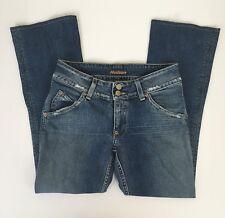 Hudson Womens Jeans Size 30 Collin Flap Pockets Med Wash Stretch Denim Pants