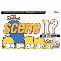 The Simpsons Scene It DVD Game Trivia Mattel Board Game New Factory Sealed Games